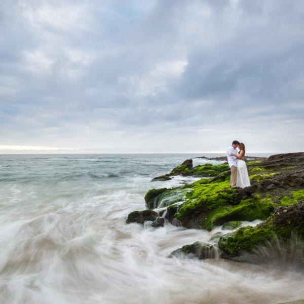 Mailene + Josh | Victoria Beach Engagement