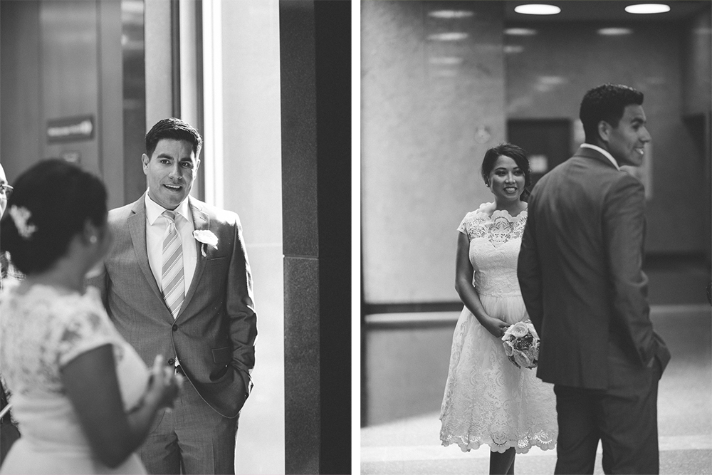 003- Cynthia and David - Beverly HIll Courthouse Wedding