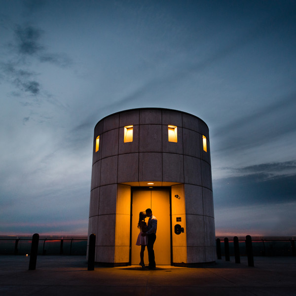 Jack + Tracy | Griffith Observatory Engagement