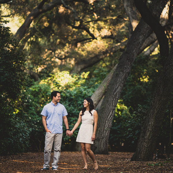 Allison + Kevin |  Descanso Gardens Engagement