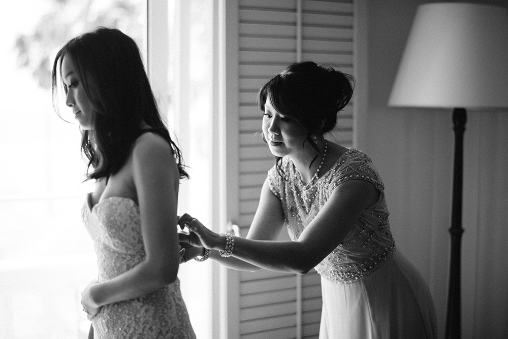 Bridesmaid Zipping Dress