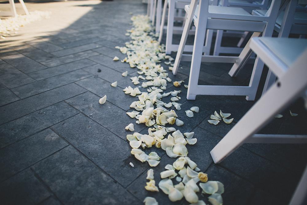 Flowers Aisle Runner