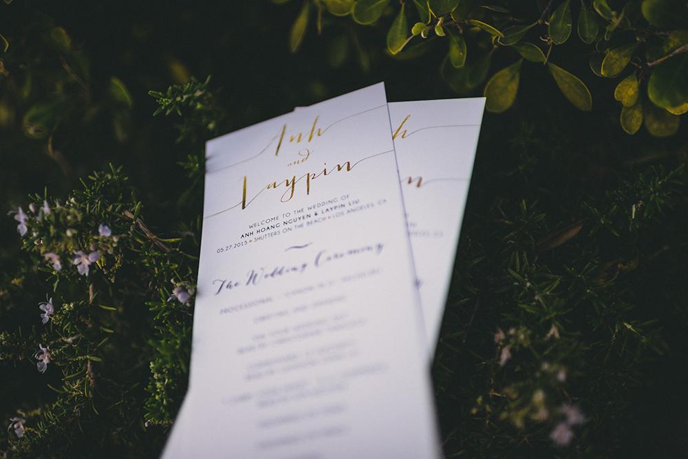 Invitations Beach wedding