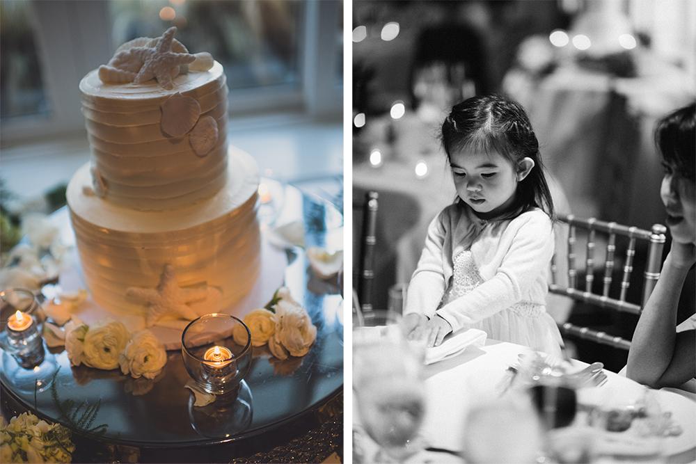 Wedding Cake Flower Girl