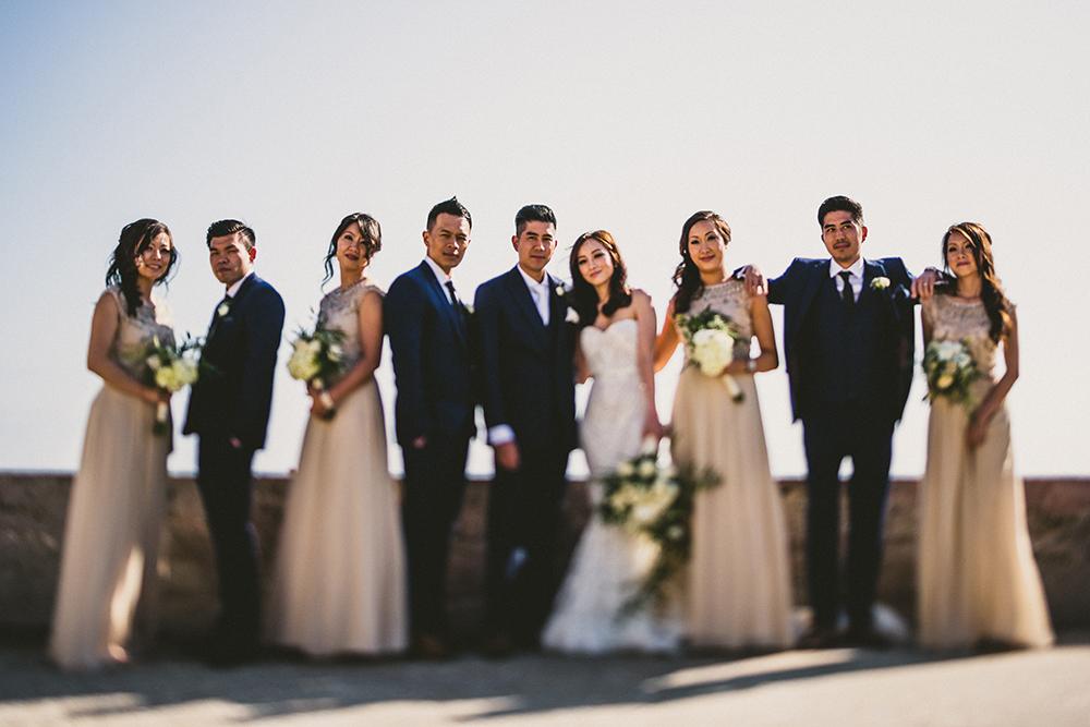 Wedding Party Tilt Shift