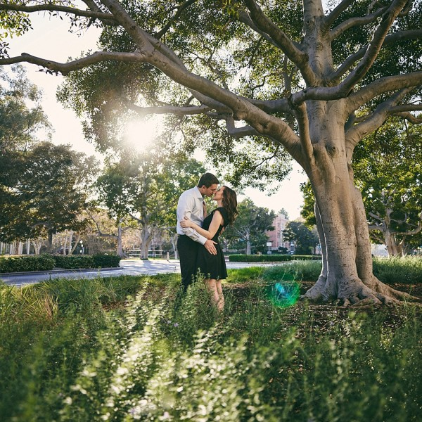 Brittany + Doug | UCLA Engagement Session