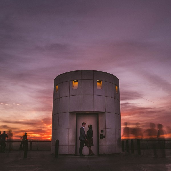 Amanda + Mike | Griffith Observatory Engagement