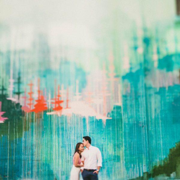 Tasha + Jay | DTLA Engagement Shoot