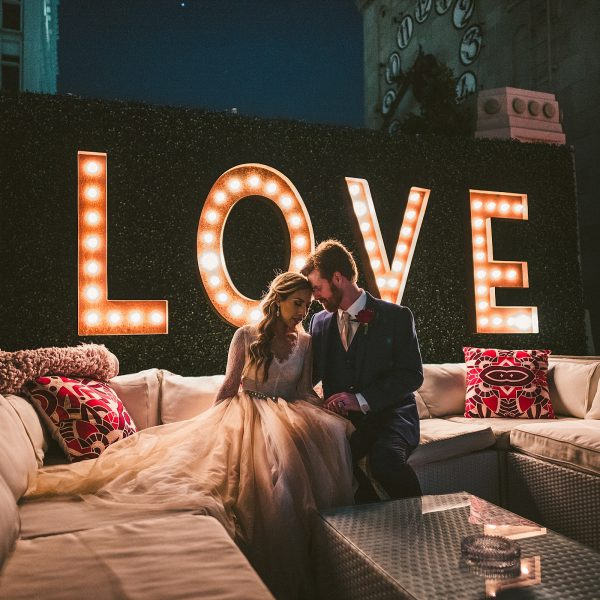 Andrea + Brian | Oviatt Penthouse Wedding