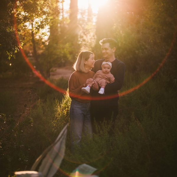 Vickie + Ellie + Harris | Arlington Gardens Family Shoot